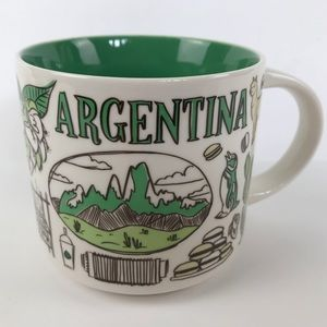 Starbucks Argentina Been There Series Collectible Coffee Mug